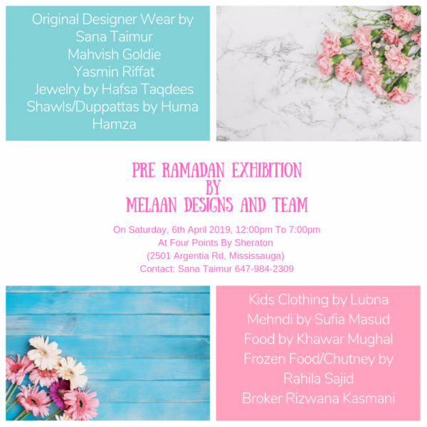 Pre-Ramadan Exclusive Exhibition by Melaan Designs & Team