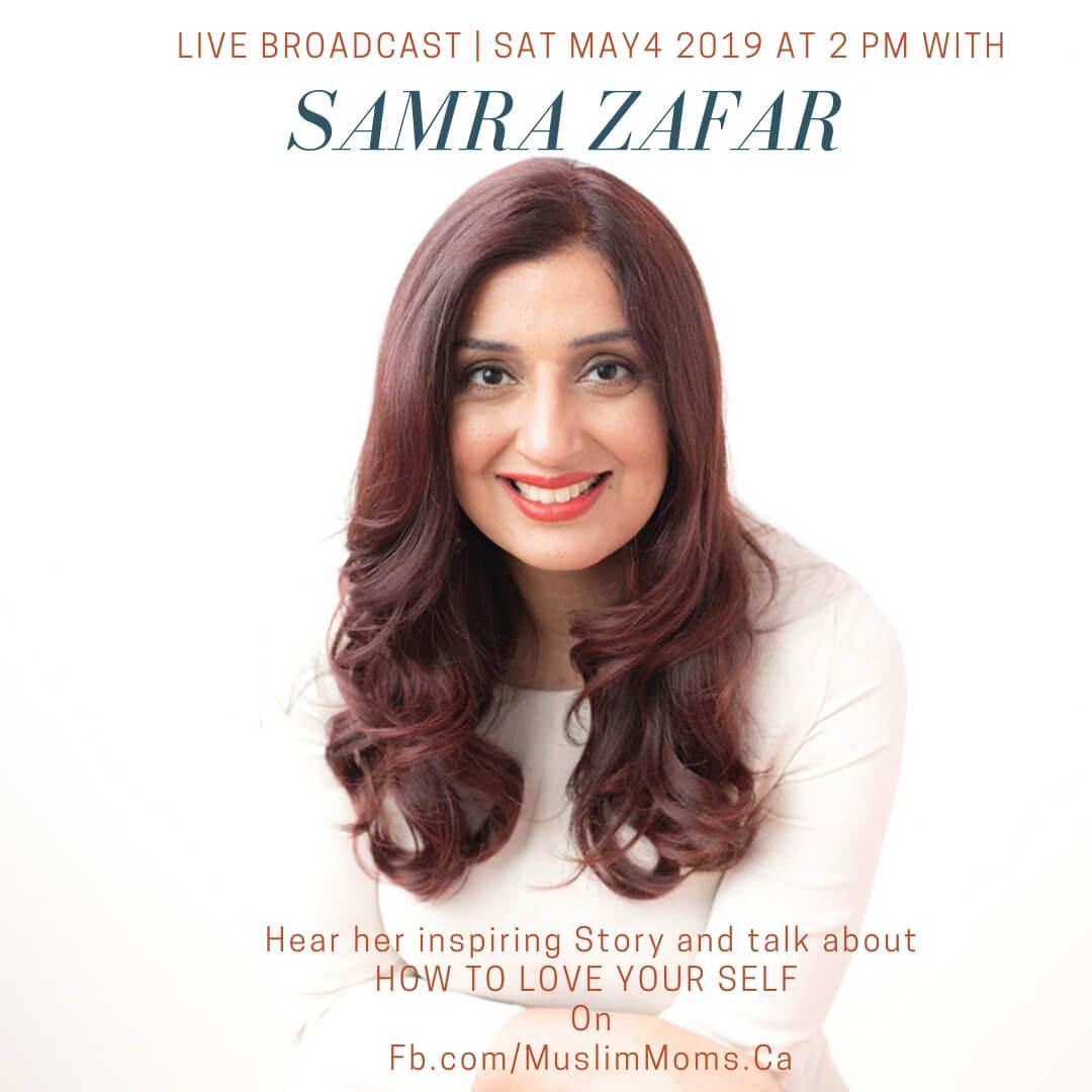 "Live Broadcast with Samra Zafar – Author of ""A Good Wife"""