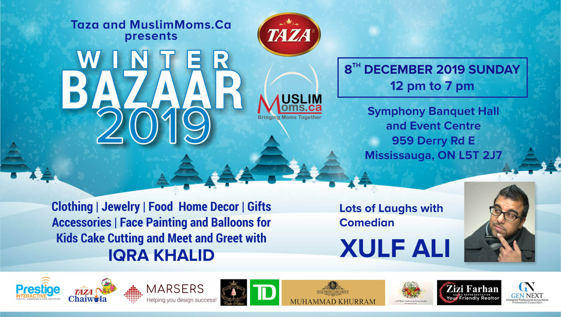 Winter Bazaar 2019 by MuslimMoms.Ca