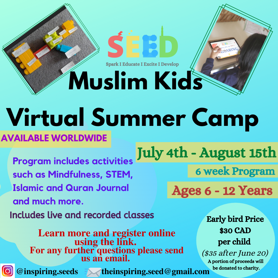 Review of SEED Muslim Kids Ultimate Virtual Summer Camp 2020