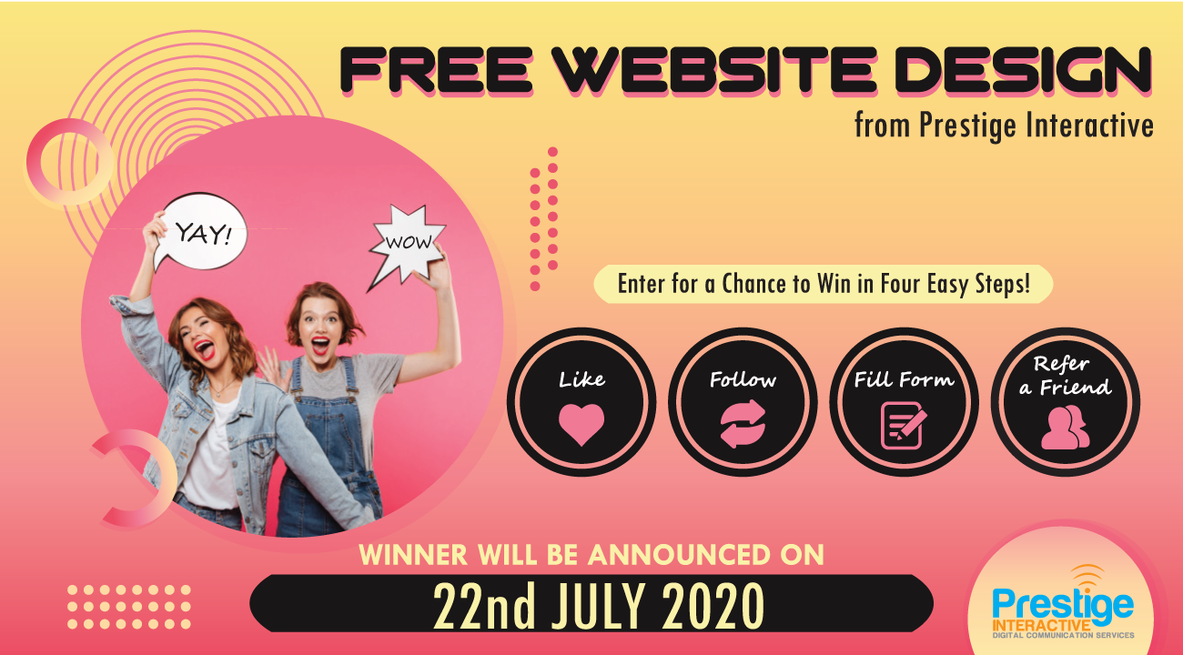 FREE Web Design Giveaway